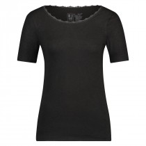 RJ dames thermo onderblouse korte mouw, Lace