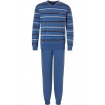Robson heren pyjama 710 Blue
