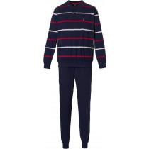 Robson heren pyjama 706-4 Navy