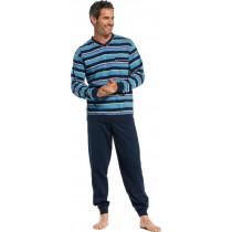 Robson heren pyjama 705-2 Blauw