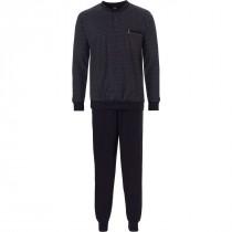 Robson heren pyjama 710 Black