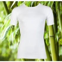 Boru Bamboo T-shirt Wit, extra Lang