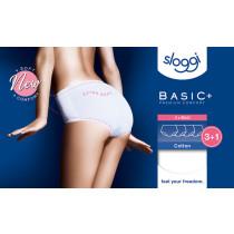 Actie! Sloggi dames slip Basic Midi 3+1 gratis!