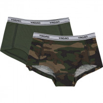 Vingino Meisjes Shorts 2-pack, Solid