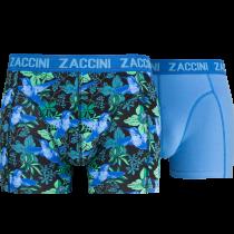 Zaccini heren boxershorts 2-pack, Kolibrie