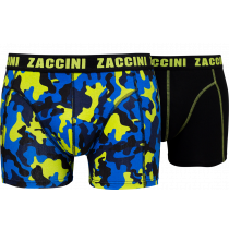 Zaccini heren boxershorts 2-pack, Camou