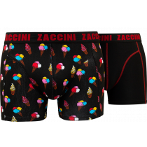 Zaccini heren boxershorts 2-pack va €14,95 ice-cream