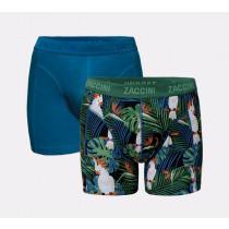 va € 14,95 Zaccini heren boxershorts 2-pack Tropical