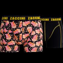Zaccini heren boxershorts 2-pack, Popcorn