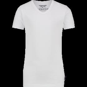 Vingino T-shirt Korte Mouw met V-neck, White