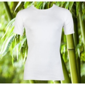 Boru Bamboo T-shirt Wit.
