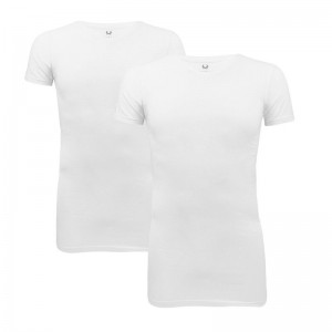 Cavello T-shirts 2-pack stretch, V-hals