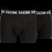 Zaccini heren boxershort 2-pack uni Zwart, NU OOK IN 3XL!