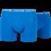 Zaccini heren boxershort 2-pack uni Cobalt
