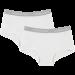 Vingino Meisjes Shorts 2-pack, Wit.